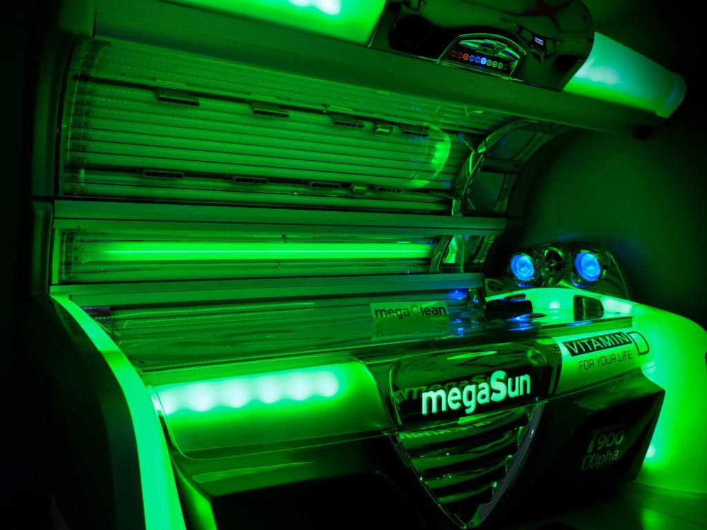 Tanning solarium jersey beauty salon