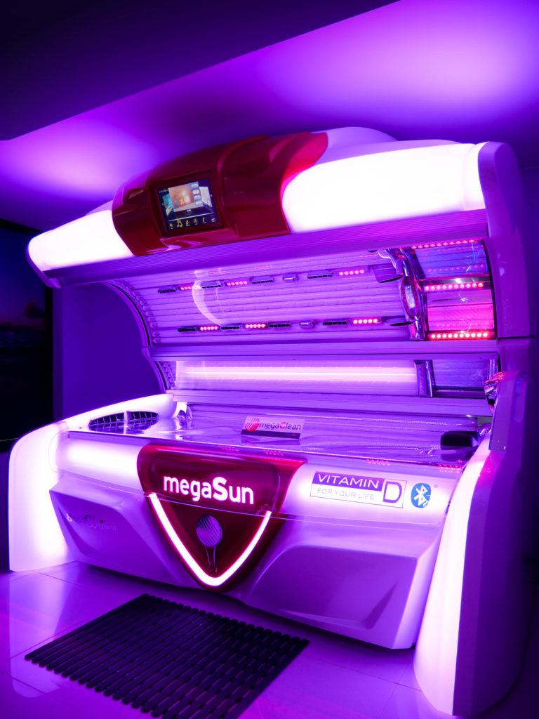 Solarium tanning beauty salon Jersey Island